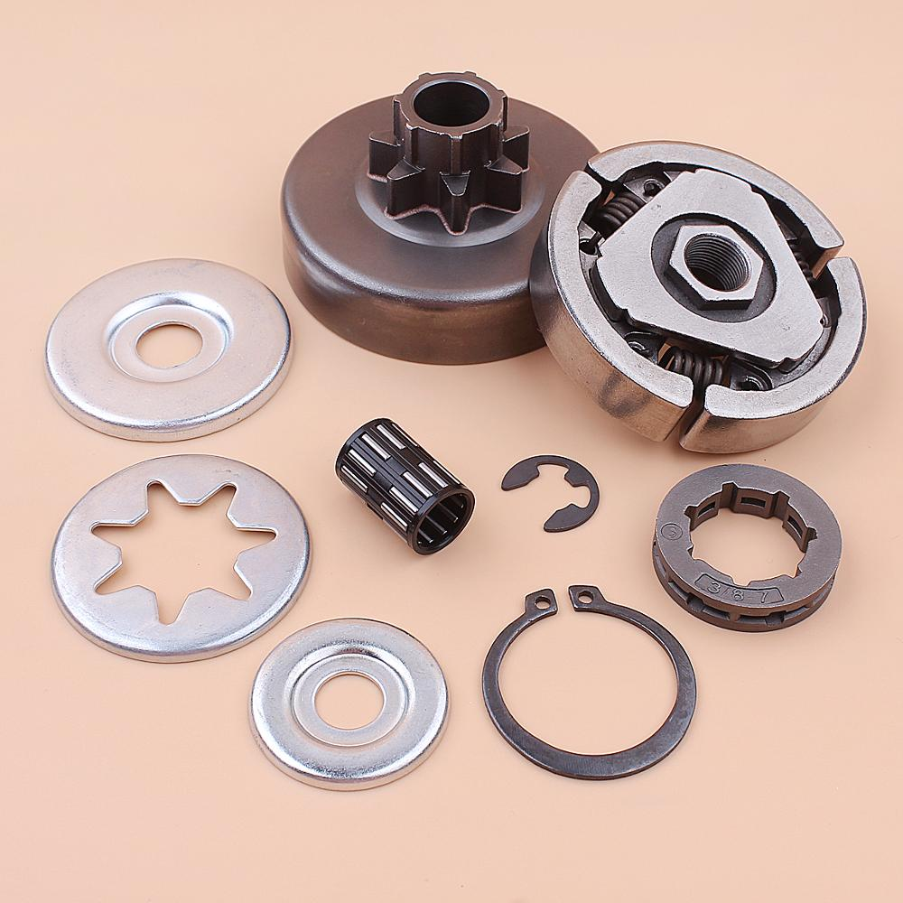 Tools : 3 8inch Clutch Drum Sprocket Rim Bearing Washer Repair Kit For Stihl MS380 038 MS 380 Chainsaw 1119 0007 1003