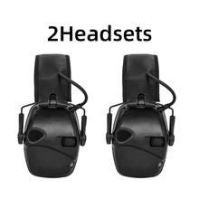 Tactics Outdoor Hearing Protection Headphone Electronic Shooting Earmuffs Noise Reduction Sound Amplification Ear protection Hea 1436 foldable noise noise reduction ear protection earmuffs sleep study mute the headphones sound industrial plants
