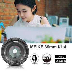 Image 4 - Meike 35mm f1.4  Manual Focus  lens APS C for Fujifilm XT100 XT3 XT10 XT4 XT20 XT30 XE3 XE1 X30 XT2 XA1 XPro1 camera + Gift