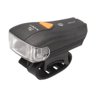 XANES 600LM XPG + 2 LED Bicycle Mountain Sensor Warning Light Bike Front Rechargeable Headlight Handlebar Cycling Spotlight