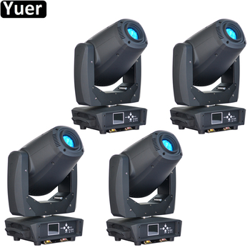 4Pcs/Lot 260W LED Spot Beam Wash 3IN1 Moving Head Light DMX512 Professional DJ /Bar /Party /Show /Stage Light LED Stage Machine new stage light 260w led spot zoom moving head light 6 18 dmx channels beam spot wash 3in1 led strong light for party disco dj