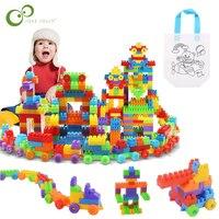 104 pz bambini particelle di grandi dimensioni blocchi educativi per la prima infanzia assemblati blocchi di costruzione giocattoli regalo per bambini YJN