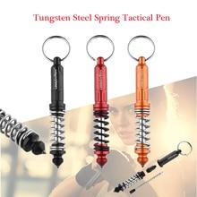 Новая T-6 тактическая ручка из вольфрамовой стали, ручка для самозащиты, тактические ручки для выживания, многофункциональная стеклянная защита