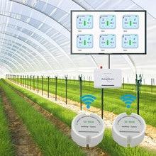 مستشعر درجة الحرارة والرطوبة اللاسلكية datalogger 868/433mhz جهاز مراقبة الرطوبة درجة الحرارة/تحكم الزراعة الذكية الدفيئة