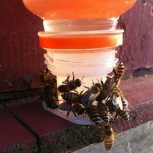 5 Pcs Bee Feeder Honey Water Drinking Fountain Plastic Beekeeping Tools  27mm Honey Entrance Feeder Hive Gardening