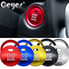 Car Styling Stickers For Mazda 3 BM BN 6 GJ1 GL CX4 CX5 CX 5 Axela Push Engine Start Stop Button Ring Cover Cap Accessories