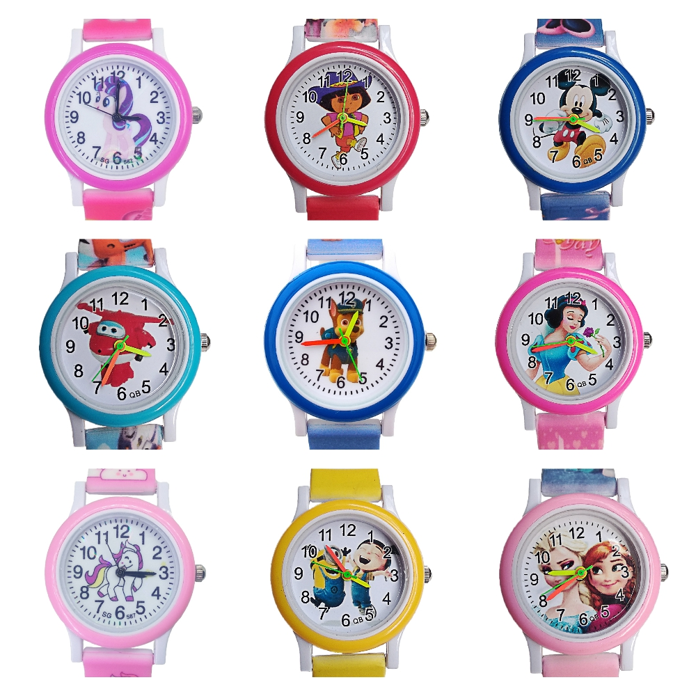 Top brand Kids Watches 3D Dog Watch Children cruising puppy Luxury Quartz Child Watch For Girls Boys Baby Clock Christmas Gift