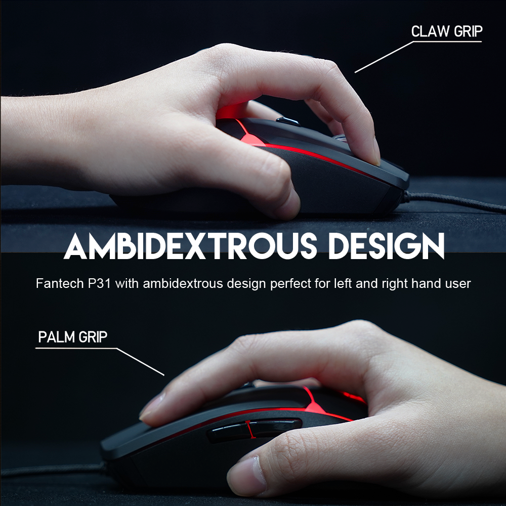 Fantech P31 Keyboard, Mouse and Mousepad 8
