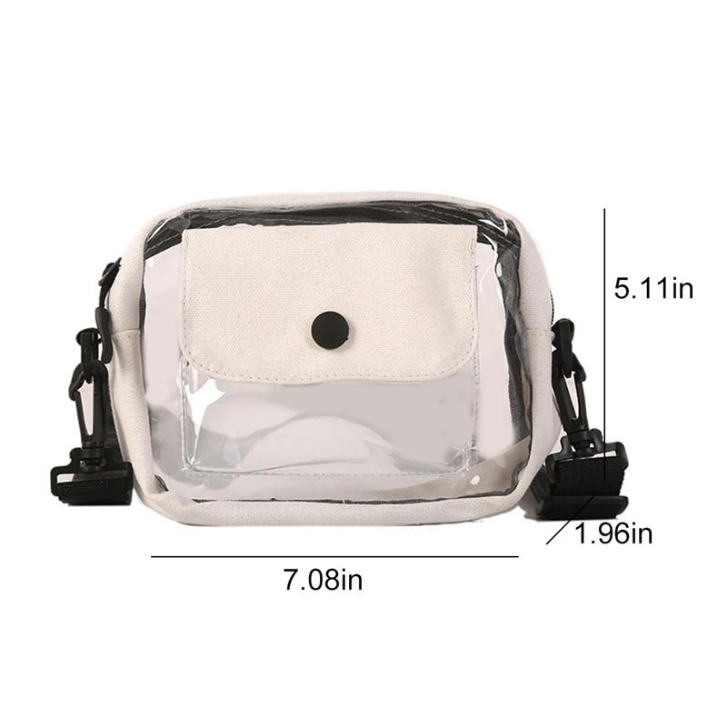 H6572e449ca544956b3479f51a4aade097 - New Fashion Causual PVC Clear Bag | Jelly Small