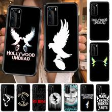 hollywood undead Hard Phone Case For Huawei P 40 30 20 10 9 8 Lite E Pro Plus Black Etui Coque Painting Hoesjes comic fas