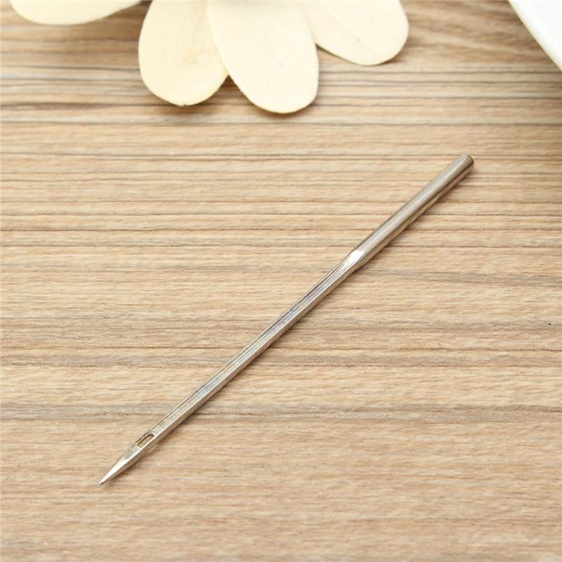 Sewing Leather Awl Needles Tool Crochet Bent Hook Needle 5Pcs//set