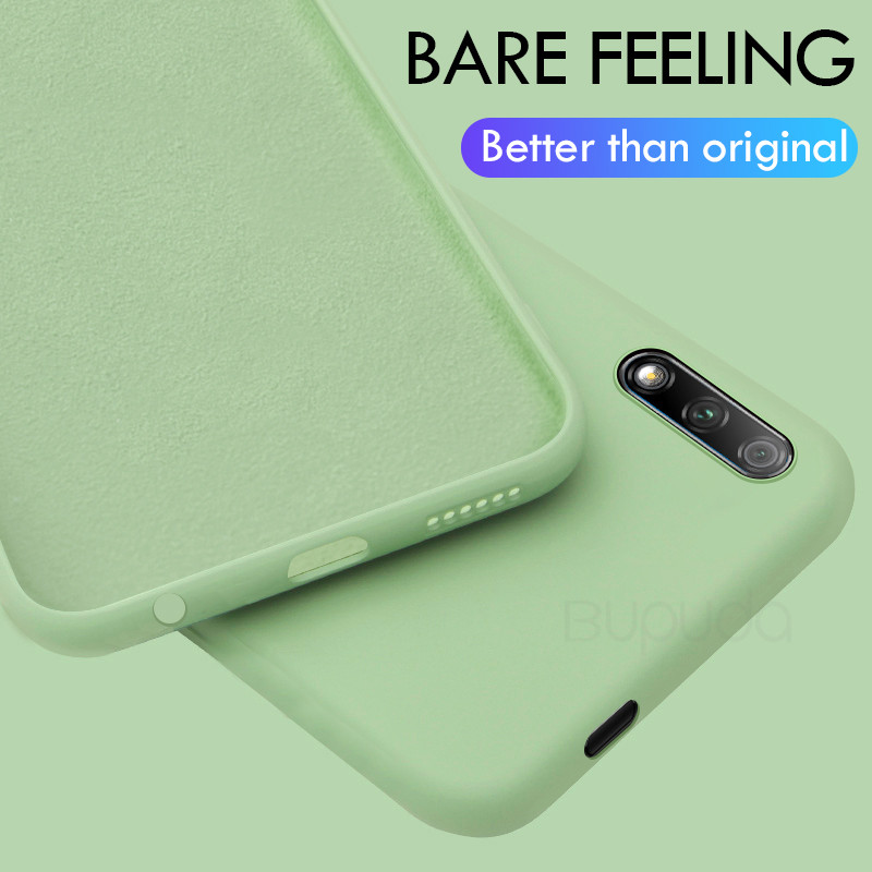 Thin Soft Phone Case For Samsung Galaxy A10 A20 A30 A40 A50 A70 A90 M10 M30 J4 J6 A6 Plus A7 2018 S10 Liquid Silicone Cover Capa image