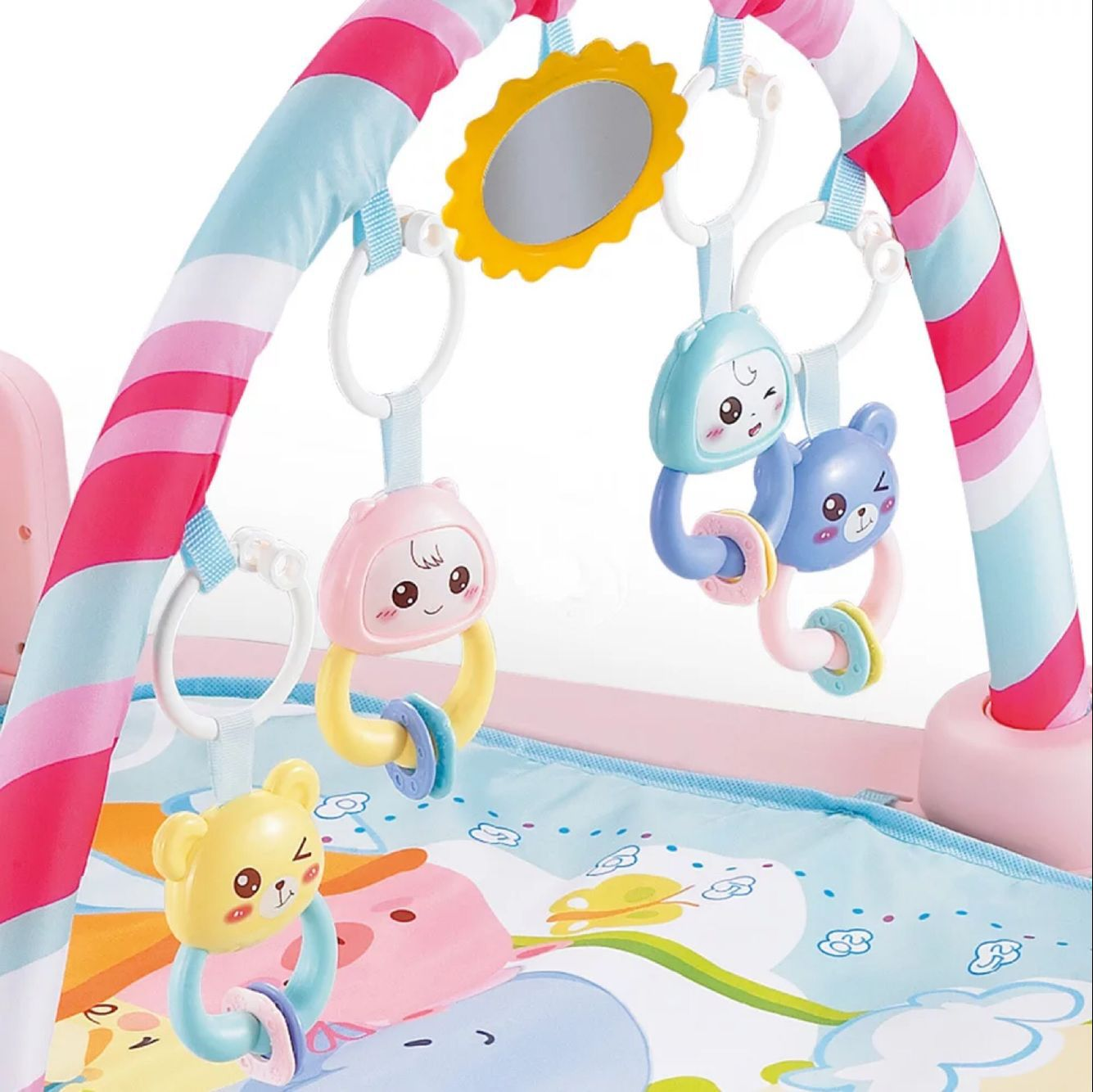 Infant Harmonium Fitness Rack Baby Fitness Mat Game Blanket Pedal Gang Qin Jia Music Toy