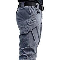 Мужские тактические брюки с множеством карманов 1