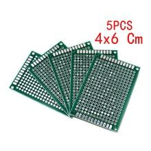 PCB Board 4x6 Cm Universal Printed Circuit Board 4*6 Single Side Prototype PCB Plate 40*60mm For Arduino Experiment Copper Board