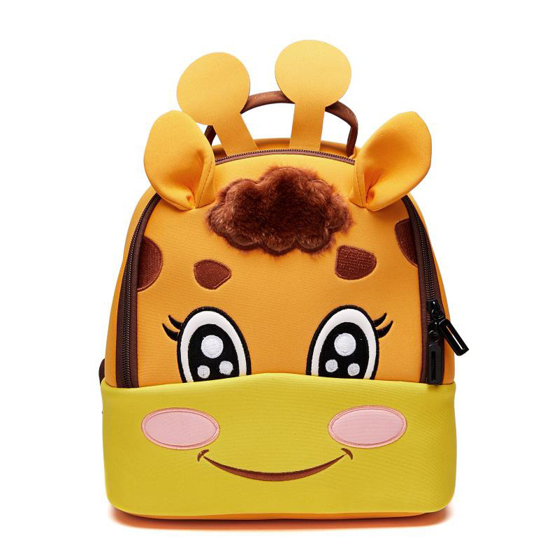 Toddler Kid Children Boy Girl 3D Cartoon Animal Backpack School Bag Kindergarten