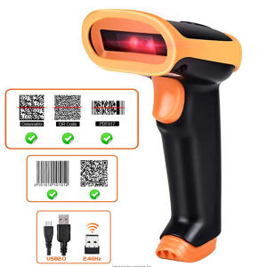 RADALL Barcode-Scanner Wired-Bar Inventory Pos-Terminal Handheld Automatic Wireless 1D/2D