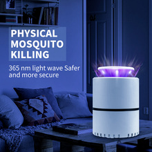 5V Led Mosquito Killer Lamp USB Mata Mosquito Ultraviolet Indoor Fly Zapper UV Bedroom Pest Control Light Repellent For Baby