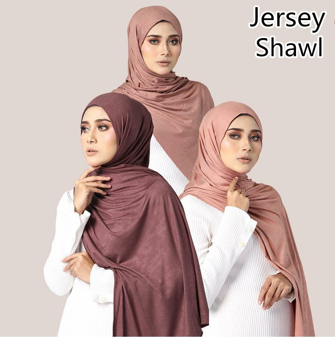 F2  10pcs  High Quality Women Muslim Jersey Hijab Scarf Foulard Femme Size Plus Hijabs Islamic Shawls Soild Modal Headscarf