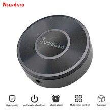 Audiocast m5 para dlna airplay adaptador sem fio wi fi música streamer áudio receptor áudio música alto-falante para sala spotify fluxos