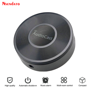Image 1 - Audiocast M5 per adattatore DLNA Airplay Wireless Wifi musica Audio Streamer ricevitore Audio musica altoparlante per flussi di camera spot