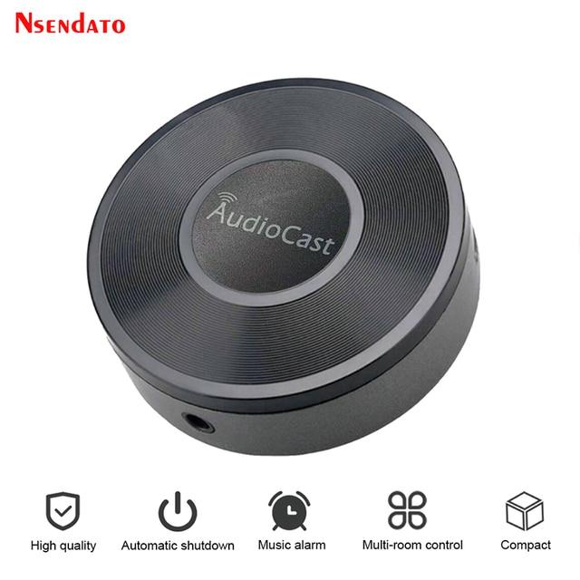 Audiocast M5 per adattatore DLNA Airplay Wireless Wifi musica Audio Streamer ricevitore Audio musica altoparlante per flussi di camera spot