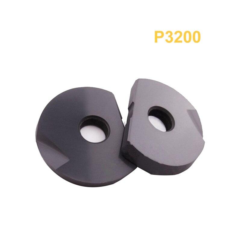 10PCS P3200 D08 R4 D10 R5 D12 R6 Milling Inserts For T2139 Fave End Mill Holder