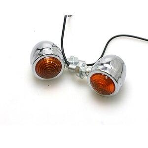 2 пары/4 шт. винтажный стоп-сигнал мотоцикла DC 12 В дешевая сигнальная лампа для мотоцикла универсальный скутер индикатор поворота лампы двиг...