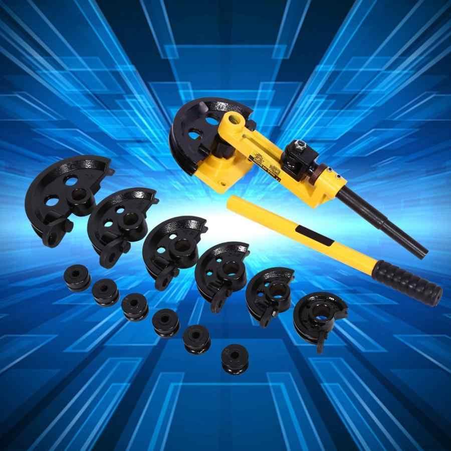 Dobrador manual resistente da tubulação para a ferramenta de dobra do tubo de dobra da tubulação para as tubulações de dobra de aço bronze cobre ferro forjado alumínio