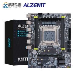 ALZENIT X99M-CE5 placa base Intel C612 X99 LGA 2011-3 Xeon E5 ECC REG DDR4 64GB M.2 NVME NGFF USB3.0 M-ATX Placa de servidor