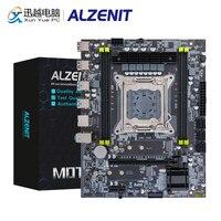 Alzenit X99M-CE5 placa-mãe intel c612 x99 lga 2011-3 xeon e5 ecc reg ddr4 64 gb m.2 nvme ngff usb3.0 M-ATX servidor mainboard