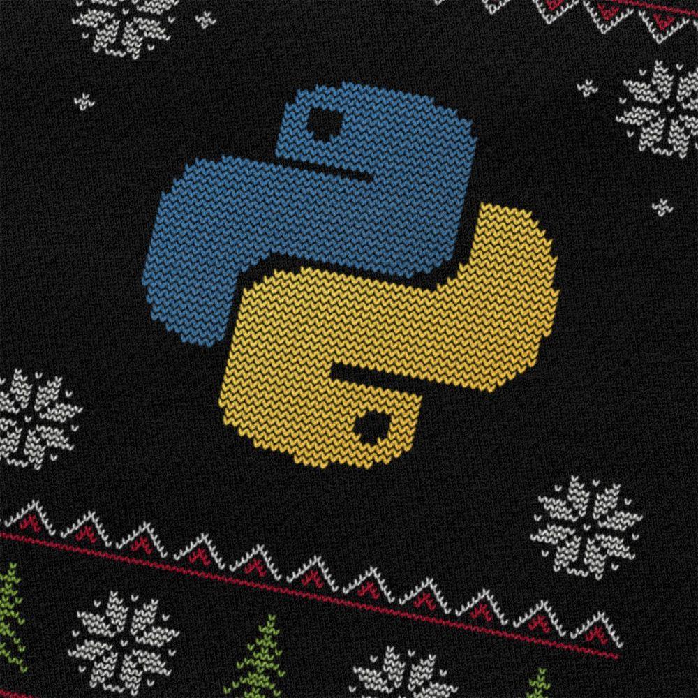 T-shirt Geek Moche Noël Code Python Créer Son T Shirt
