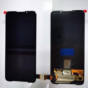 "Image 5 - 6.67"" AMOLED Original New For Xiaomi BlackShark 3 LCD Display Screen+Touch Panel Digitizer With Fingerprint For Black Shark 3"