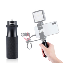 """Ulanzi U 40 Metal Camera Hand Grip for GoPro 7 6 5 DJI OSMO Action for RX0 II VLOG Handheld Handle Stabilizer with 1/4"""" Screw"""