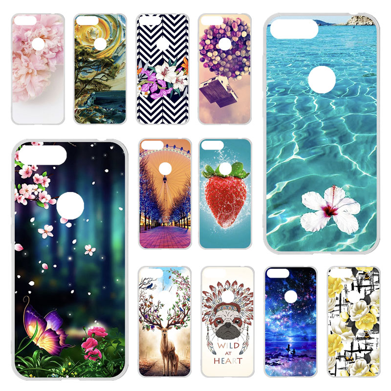 TPU Phone <font><b>Cases</b></font> For <font><b>TP</b></font>-<font><b>Link</b></font> <font><b>C5</b></font> <font><b>Plus</b></font> <font><b>Case</b></font> Soft Silicone Painted Bumper For <font><b>TP</b></font>-<font><b>Link</b></font> <font><b>Neffos</b></font> <font><b>C5</b></font> <font><b>Plus</b></font> 5.34 inch Cover Back Fundas image