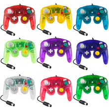 Transparent Wired Gamepad Joypad For Nintendo For NGC Controller Used For MAC Computer Console Port