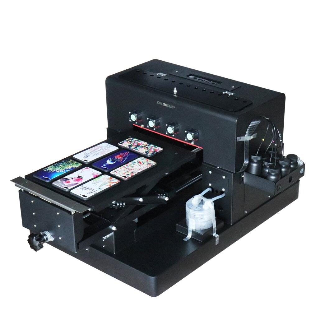 A3 Multifunct UV DRUCKER 8 farben Uv-flachbettdruckmaschine mit DX5 druckkopf für Telefon Fall Golf Ball Metall Stein