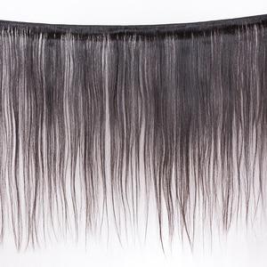 """Image 2 - Pelo lacio MOCHA de 8 """"  26"""" 10A, cabello virgen brasileño, Color Natural, 100%, extensión de cabello humano sin procesar, envío gratis"""