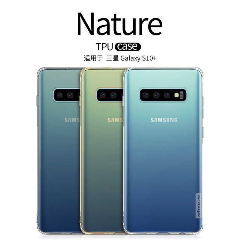 Samsung 銀河 S10 S10 プラス S10e ため S9 S8 プラスケースカバー Nillkin TPU 0.6 ミリメートルバックカバー coque samsung S10 S10E S9 S8 + ケース s