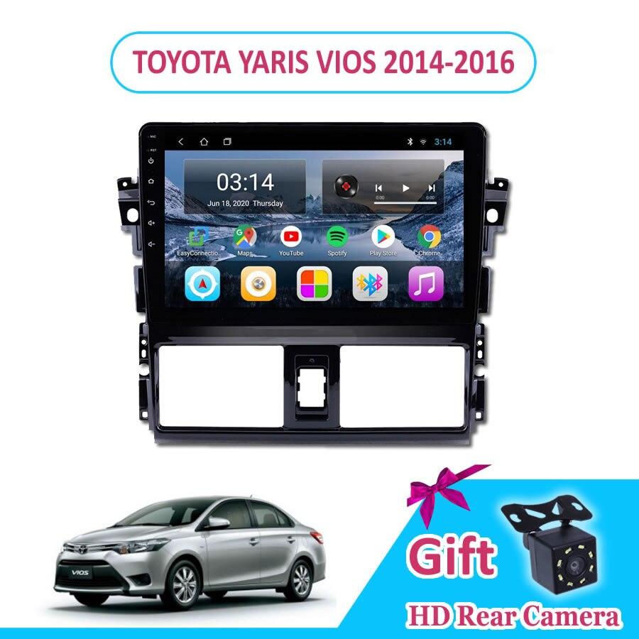 10 ''IPS Android 9,0 автомобильное радио TOYOTA YARIS VIOS 2014/2015/2016 Мультимедиа GPS навигация Navi плеер Авто Стерео 2din WIFI