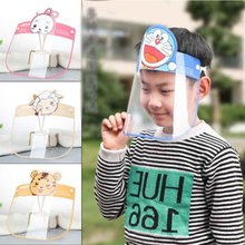 Visor-Face-Mask Face-Shield Protective Head-Mounted-Protection Transparent Kids Full-Face