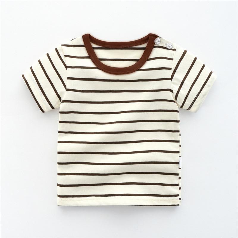 Summer Children's Wear Baby Kids T Shirts Girls Boys Clothes Tshirt Cotton Cartoon Printing Tops T-shirt Children Clothing-5