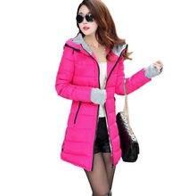 2020 jesienno-zimowa damska nowy koreański styl szczupła ciepła dorywczo z kapturem kurtka odzież Casaco Abrigos Casaca Kaban Invierno Mantel
