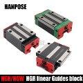 HGR20 HGH20 chariots de blocs Rail   À Guide linéaire carré HGH15CA/flang HGW15CC gravure de routeur de