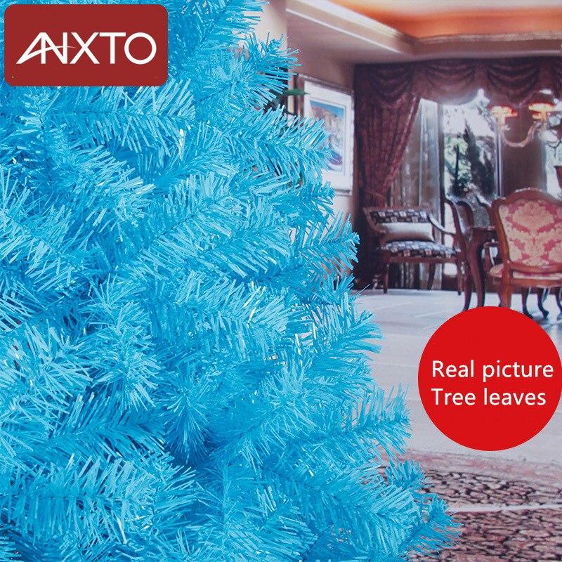 180 centimetri albero Di Natale nero blu artificiale albero Di Natale decorazioni di natale decorazioni natalizie per la casa di trasporto libero - 2