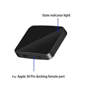 Image 2 - Bluetooth 5.0 Ontvanger A2DP Muziek Ontvanger Mini 30Pin Draadloze Stereo Audio Adapter Voor Sounddock Ii 2 Ix 10 Draagbare Speaker