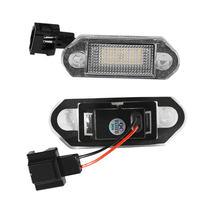 1 par conduziu a placa do número de licença do carro lâmpada luz lâmpadas para vw golf mk3 para skoda octavia i auto iluminação da placa de licença peças