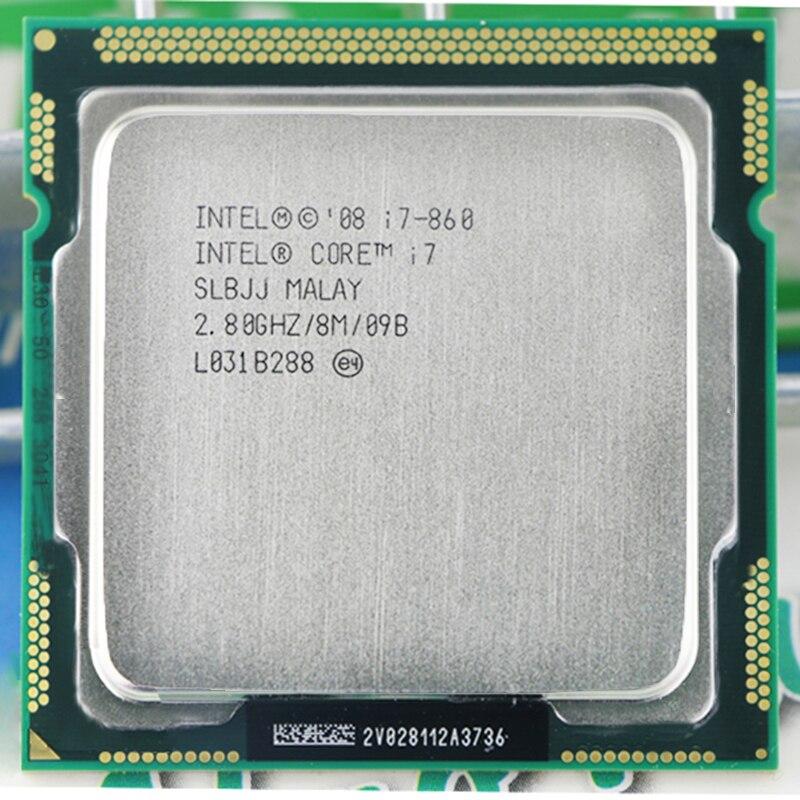 INTEL I7 860 I7-860 Intel Core I7 860 CPU  I7 Processor (Quad Core CPU 2.80GHz 8MB Sockel 1156 95W) Processor Warranty 1 Year