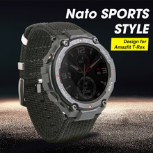2020 new Nato sports style watch strap special design for Amazfit T rex T rex Smartwatch