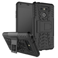 Capa For LG V40 V50S V50 ThinQ Case Armor Bumper Shockproof Cover For LG G6 V60 V50S V50 V40 V30 V20 Stylo 6 LG Q60 Hard Case(China)